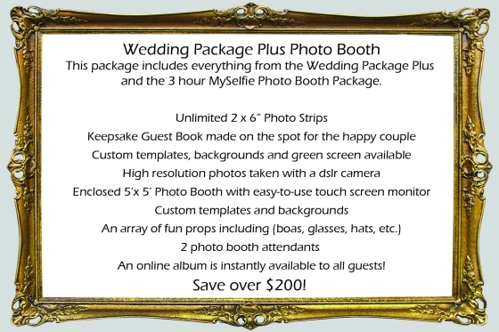 Wedding Package Plus Photo Booth